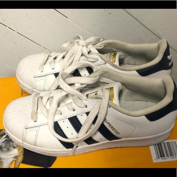 adidas Shoes | Kids Shell Toe | Poshmark